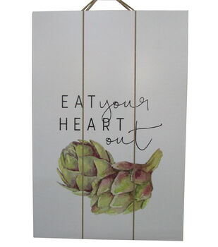 Simply Autumn Wall Decor-Eat Your Heart Out & Artichokes