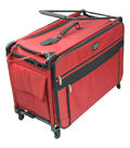 TUTTO Machine on Wheels Case-Red