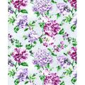 Luxe Flannel Fabric -Boho Floral