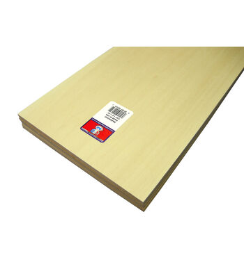 Midwest Products 0.09'' Basswood Sheet