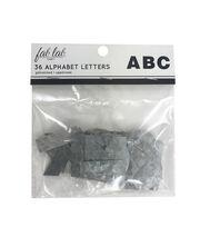 Fab Lab Craft 36 pk Galvanized Uppercase Alphabet Letters, , hi-res