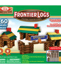 Ideal Frontier Logs Classic All Wood Construction Set