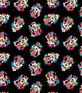 Disney Minnie Mouse Cotton Fabric 43\u0022-Floral Toss