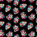 Disney Minnie Mouse Cotton Fabric-Tossed Floral