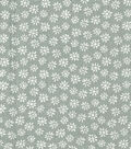 Quilter\u0027s Showcase Cotton Fabric -Daisy on Gray