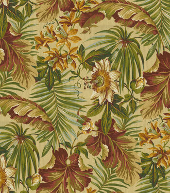 "Waverly Sun N' Shade Outdoor Fabric 54""-St. Croix Cinnabar"