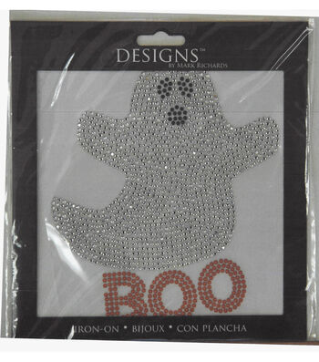 Designs Iron-On-Boo The Ghost