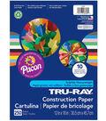 Pacon Tru-Ray 250-sheet 12\u0027\u0027x18\u0027\u0027 Construction Papers-Assorted Colors