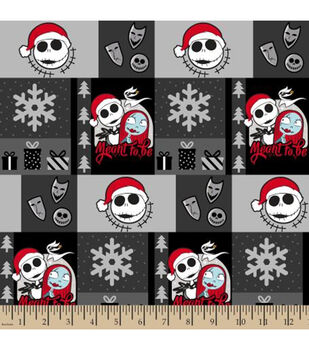 Nightmare Before Christmas Cotton Fabric-Ugly Nightmare Sweater