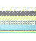 Jelly Roll Cotton Flannel Fabric Pack 2.5\u0027\u0027x42\u0027\u0027-Giraffe
