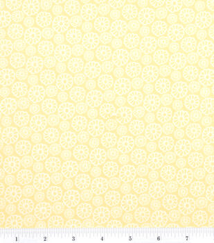 Keepsake Calico Cotton Fabric -Bright Daisy