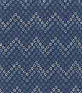 Keepsake Calico Cotton Fabric -Mitrepeak Indigo