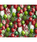 Christmas Cotton Fabric-Ornaments