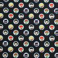 DC Comics Cotton Fabric-Kawaii Circles