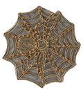 Spider Web Gold Foil Applique