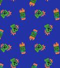 Minecraft Fleece Fabric-Zombie and Creeper Toss