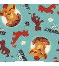 Disney Lion Guard Fleece Fabric 59\u0027\u0027-Fierce & Fearless