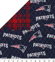 New England Patriots Double Faced Quilt Fabric, , hi-res