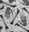 Halloween Cotton Fabric 43\u0022-Tossed Bones