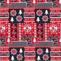 Boston Red Sox Cotton Fabric-Winter