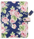 Webster\u0027s Pages Color Crush A5 Floral Binder Kit-Navy