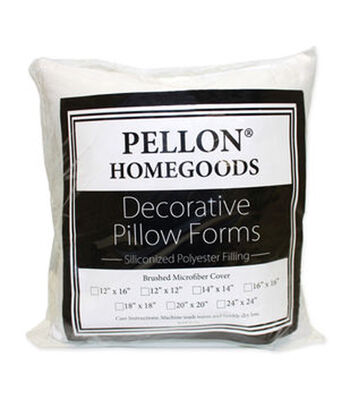"Pellon Decorative 16"" x 16"" Microfiber Pillow Form"