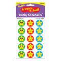 Emoji Stars-Stardust Stinky Stickers 12 Packs