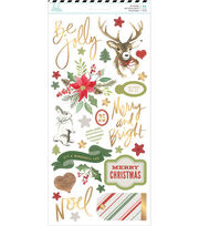 Heidi Swapp Winter Wonderland Cardstock Stickers 93/Pkg, , hi-res