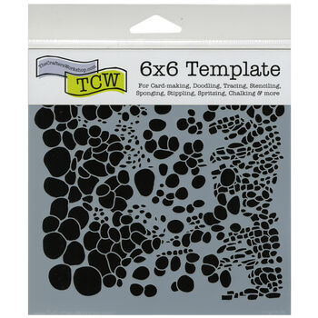 "Crafter's Workshop Templates Cell Theory 6"" x 6"""