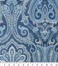 Waverly Upholstery Fabric 54\u0027\u0027-Luna Clubroom Paisley