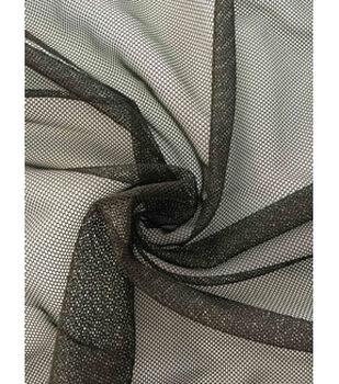 Casa Collection Super Stretch Mesh Fabric -Black