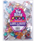 Darice Rhinestone Shapes 1 lb./Pkg Assorted Shapes & Colors