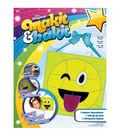 Makit & Bakit Deluxe Sun Catcher Kit-Emoji Tongue