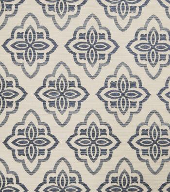 "Jaclyn Smith Upholstery Fabric 53""-Accurate/Indigo"