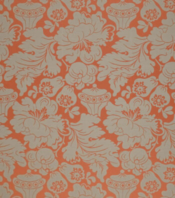 """Crypton Upholstery Fabric 54""""-Melrose-Persimmon"""