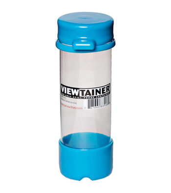 Viewtainer 2''x6'' Tethered Cap Storage Container