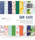 American Crafts Dear Lizzy Star Gazer 6\u0027\u0027x6\u0027\u0027 Single-sided Paper Pad