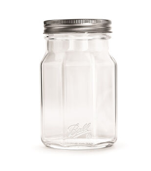 Ball Collection Elite Design Series 4 Pk Quart Wide Mouth Sharing Jars