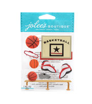 Jolee's Boutique Stickers-Basketball, , hi-res