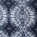 Anti-Pill Fleece Fabric -Navy & White Tonal Tie Dye