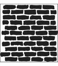 Crafter\u0027s Workshop Templates 6\u0022X6\u0022-Bricks