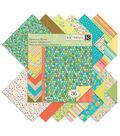 K&Company Summer Travel Double-Sided Paper Pad 12\u0022x12\u0022