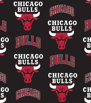 Chicago Bulls Fleece Fabric -Tossed