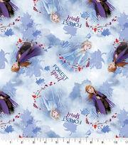 Disney Frozen 2 Cotton Fabric-Elsa & Anna Spirit, , hi-res