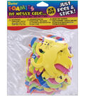 Darice Foam Stickers Assorted Colors Cats & Dogs
