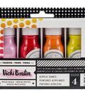 Vicki Boutin Mixed Media Color Pop Acrylic Paint 1.7oz 4/Pkg-Set 1