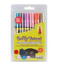 Marvy Uchida 6 pk. Puffy Velvet 3mm Fabric Markers