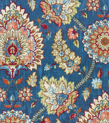 "Waverly Multi-Purpose Decor Fabric 54""-Bartlett Place Gem"