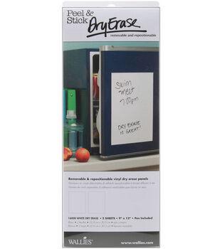 Wallies Peel&Stick Dry Erase Sheets