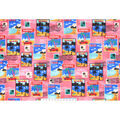Snuggle Flannel Fabric -Traveling Postage Stamps